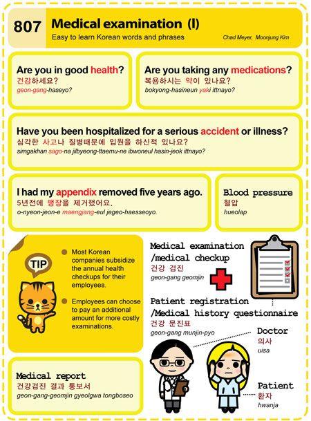 807 Medical examination (I)