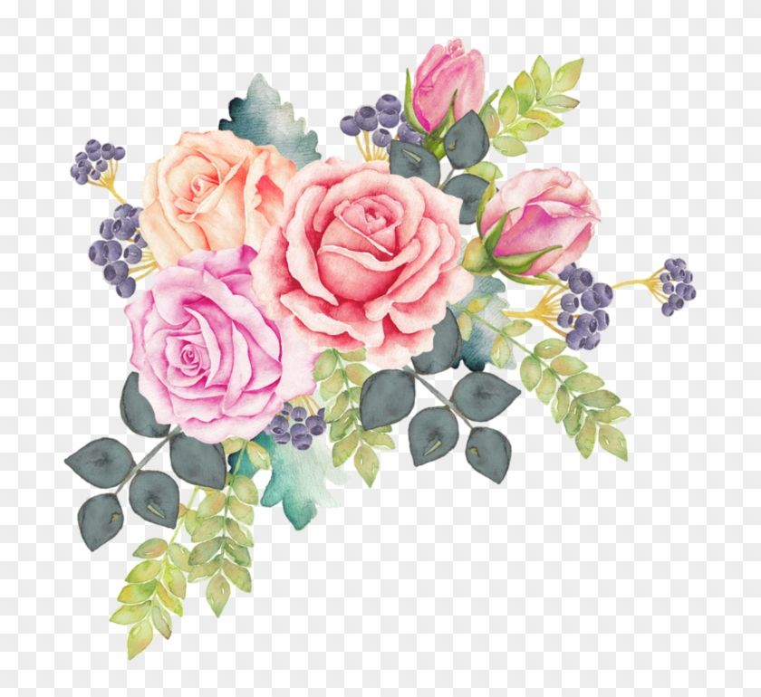 Download And Share Clipart About Watercolour Flowers Watercolor Painting Rose Clip Art Wa Floral Wreath Watercolor Watercolor Flower Wreath Floral Watercolor