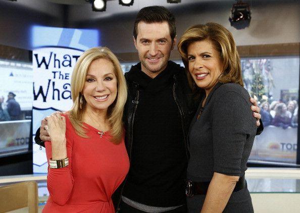 """Richard Armitage with Hoda Kotb, Kathie Lee Gifford on NBC News """"Today"""" 5 Dec 2012"""