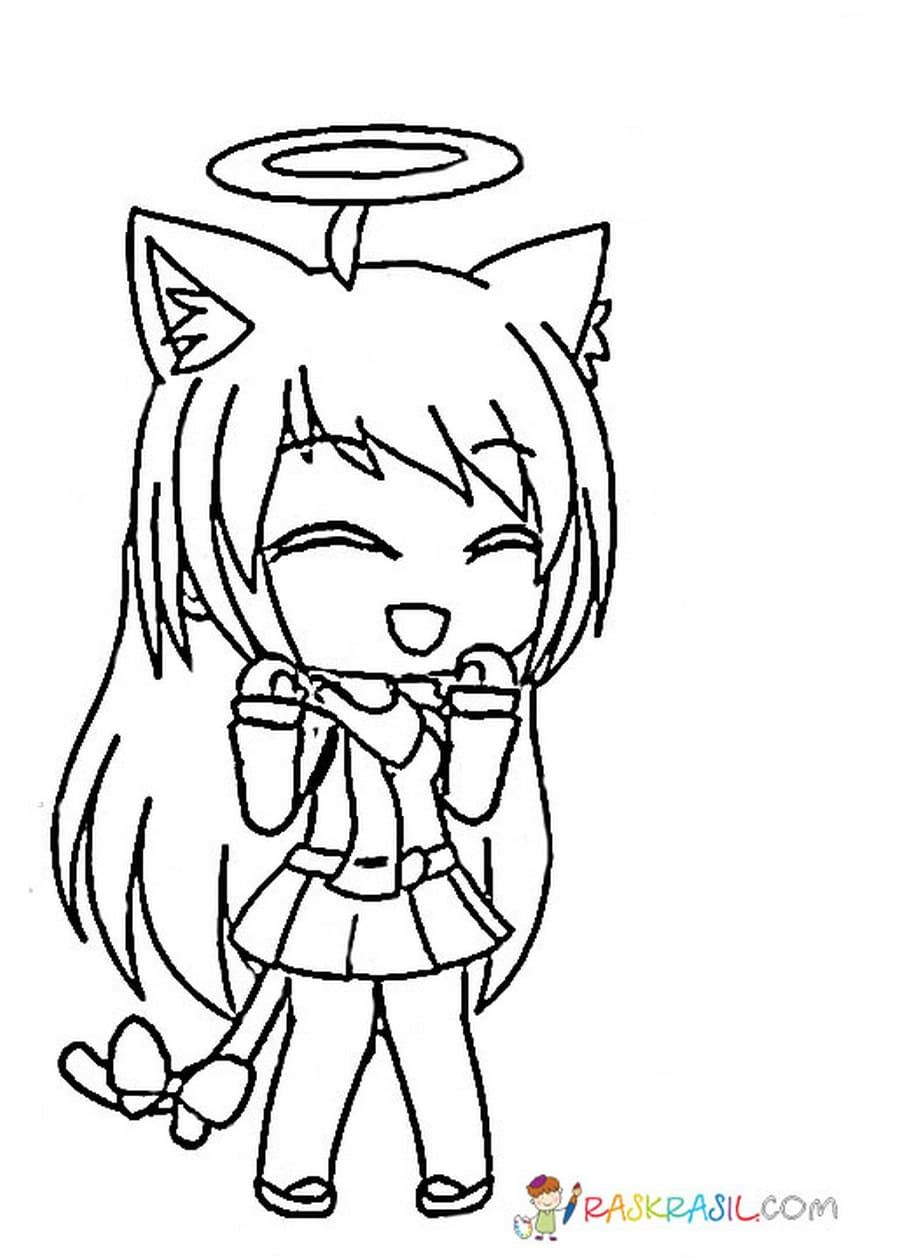 Gacha Life Coloring Pages Unique Collection Print For Free Cute Coloring Pages Coloring Pages Cute Animal Drawings Kawaii