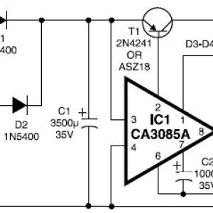 12V / 3A Regulated Power Supply Scheme Diagram | ELEctronicE em 2019