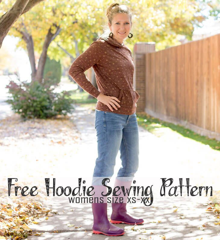 Use This Free Sewing Pattern To Make A Perfect Womens Hoodie Make