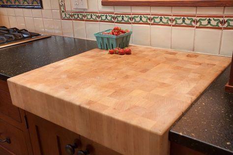 Built In Cutting Board Countertop