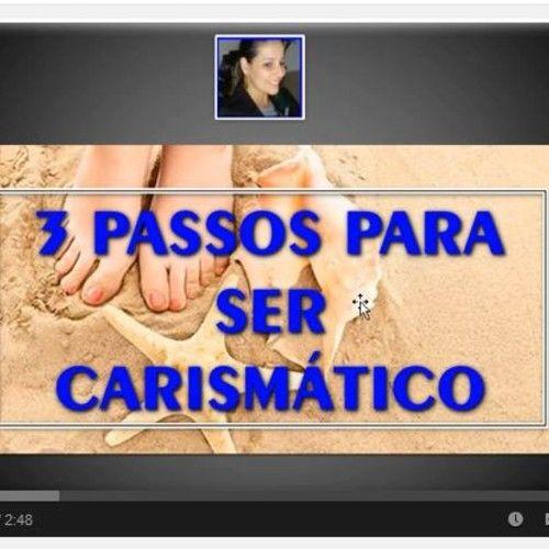 3 Passos para você treinar seu carisma… Procurando oportunidade de mudar? Acesse:http://www.andreabenevento.com/projetovida&ad=sondde