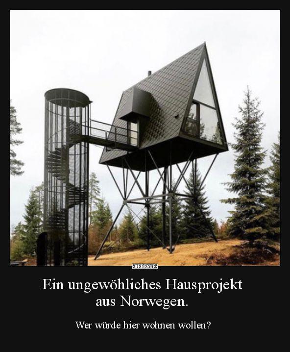 Ein ungew hliches hausprojekt aus norwegen lustige for Berlin architektur studieren