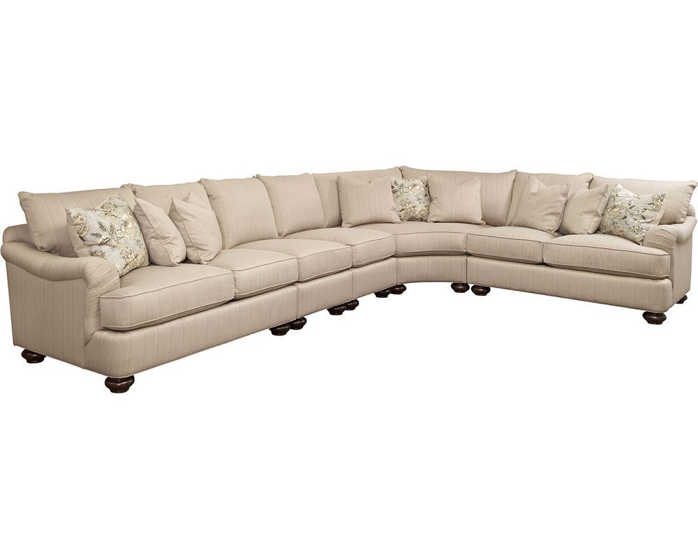Portofino Sectional (English Arm) - Sectionals - Living Room ...