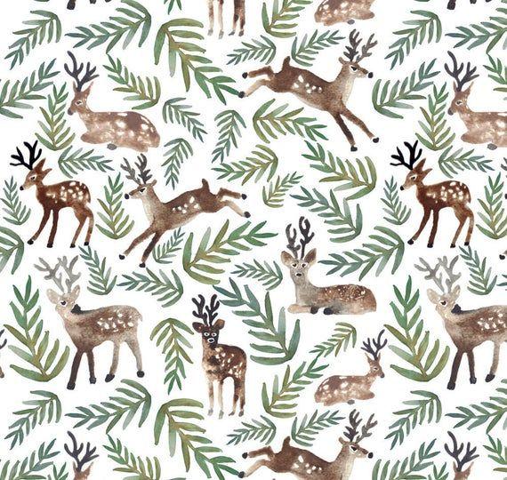 Doe-A-Deer Lovey. Lovie. Watercolor Lovey. Security