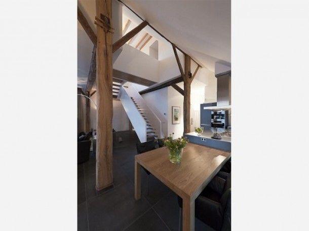 Vide In Huis : Van boerderij naar woonhuis vide geeft extra licht beneden. door