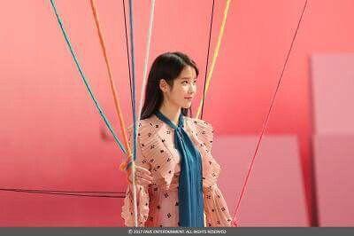 IU 170503 official update Ending scene MV