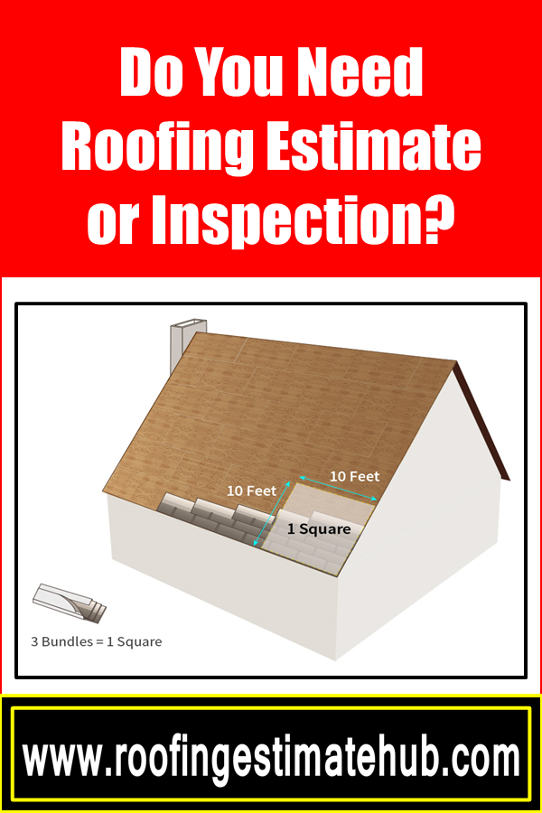 Do You Need A Roofing Estimate Or Inspection Roofing Estimate Cool Roof Roofing
