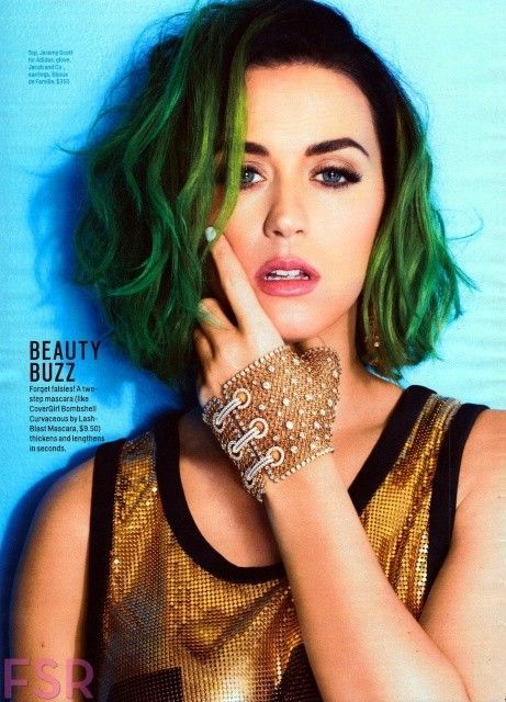 Celebrity Diy Turquoise Ombre Hair Dye For Short Hair Girls Teal