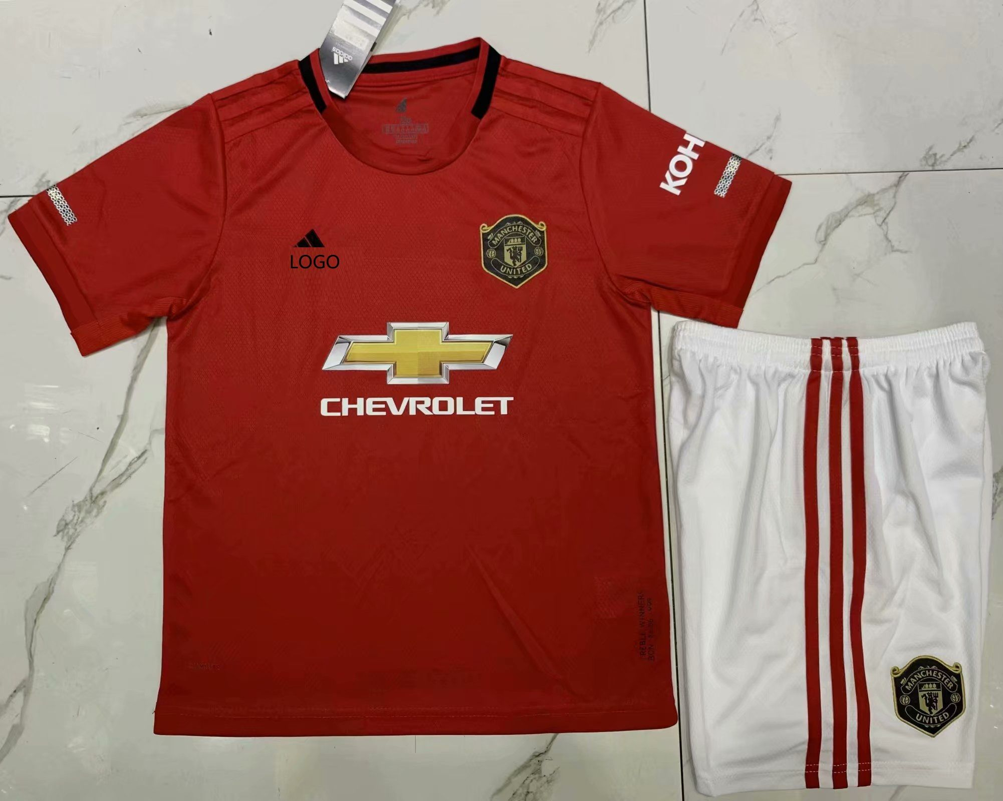 1920 aaa qulity manchester united red children soccer