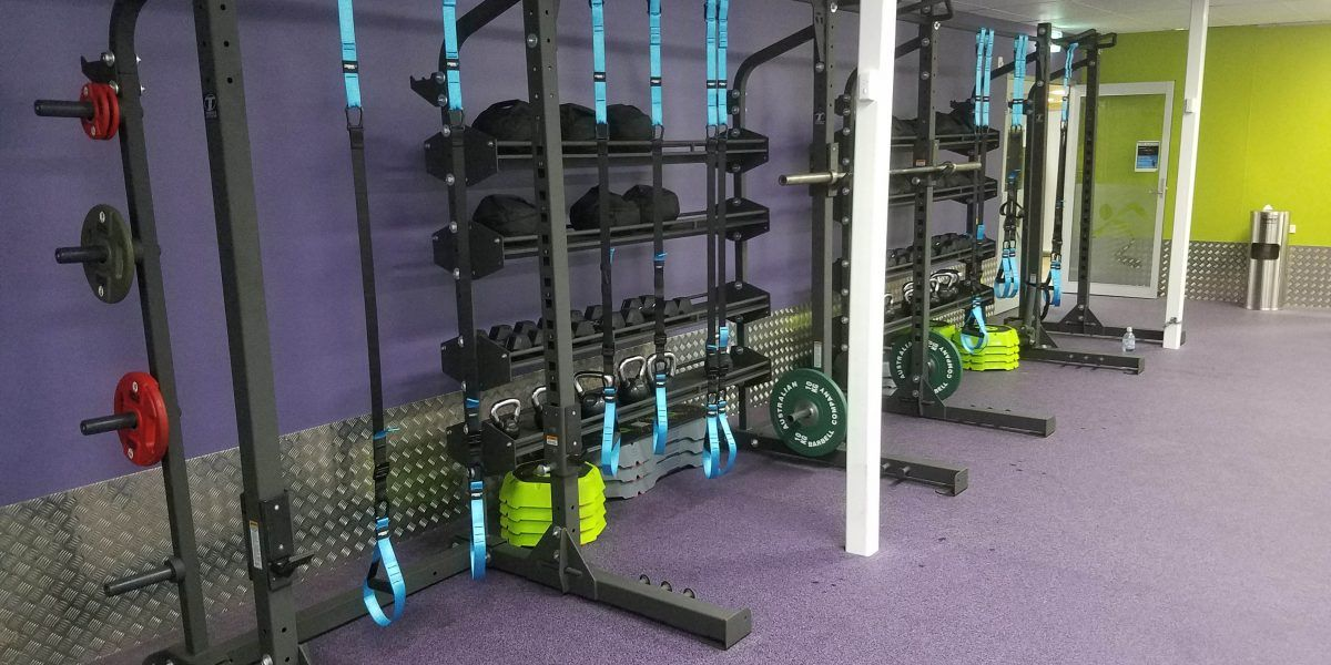 Showcase cage series fitness anytime fitness at home gym