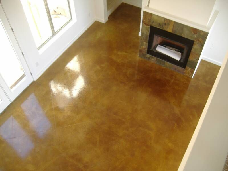 San Antonio Dyed Concrete For Home Houston Area Polished