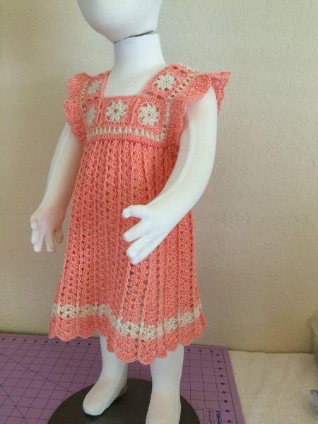 Img 6238 Crochet Dress Girl Crochet Baby Dress Crochet Toddler Dress