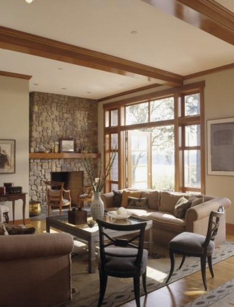 Living Room Colors With Oak Trim oak trim. the good. the bad. and how to accept the ugly
