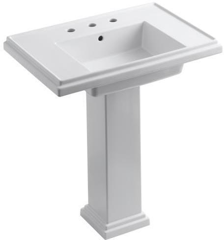 Powder Room Kohler Tresham Pedestal Sink Pedestal Sink Bathroom Sink Sink