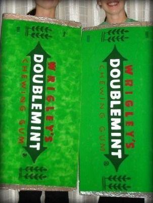 Doublemint Gum Purse Twins Costume
