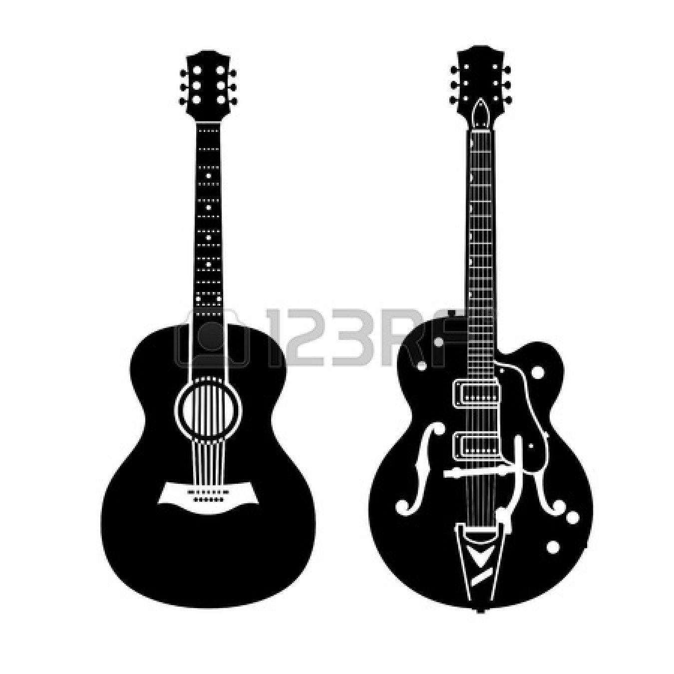 Acoustic Guitar And Electric Guitar Guitar Acoustic Guitar Electric Guitar