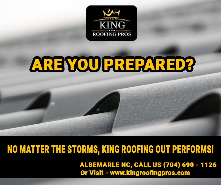 One Stop For All Your Roofing Works Kingroofingpros Is One Of The Best Authentic Company Situated At Albemarle N Roofing Albemarle Roofing Services