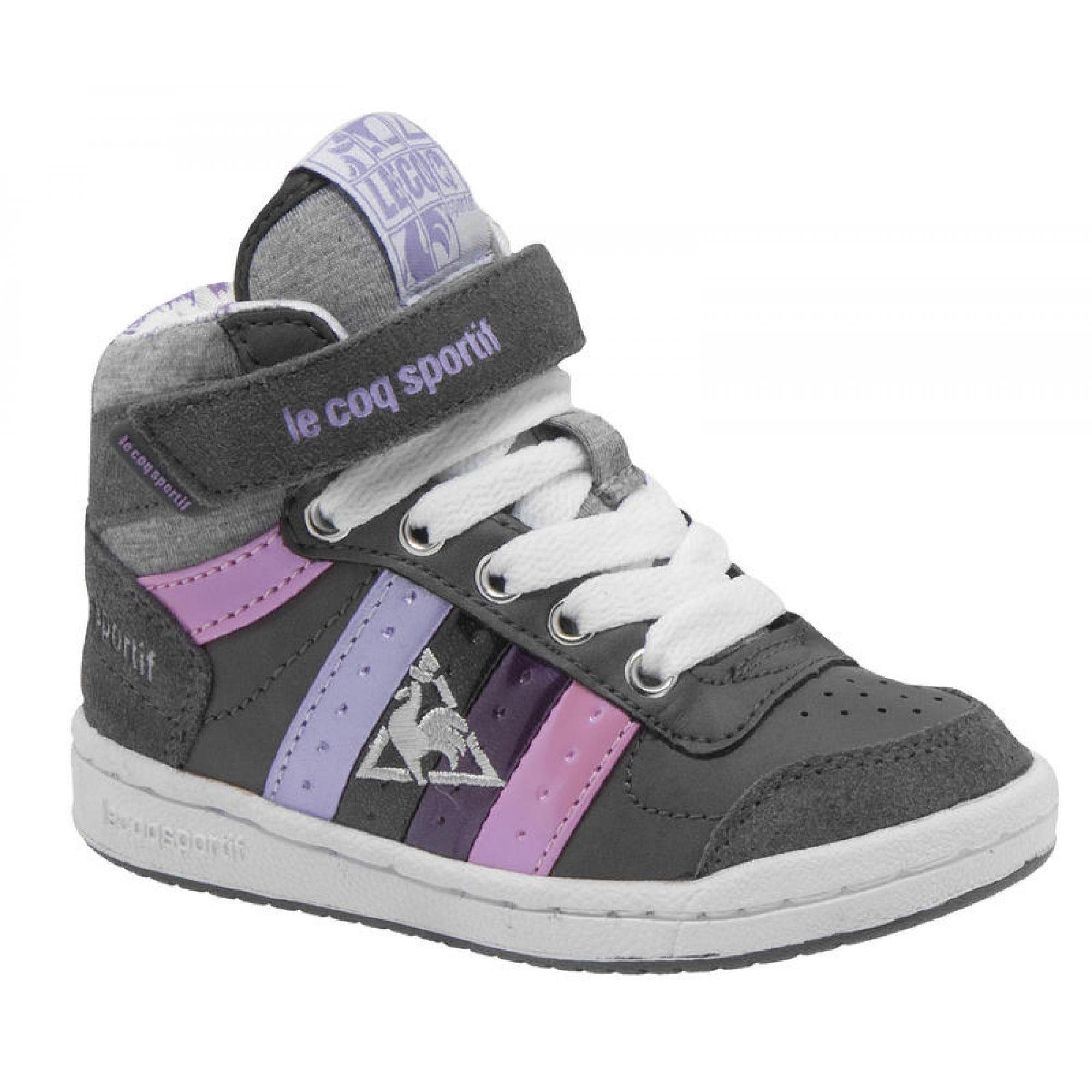 Gave Le coq sportif le coq sportif online shop bailie sneakers peuter (Donkergrey) Sneakers van het merk Le coq sportif. Uitgevoerd in d.grey.