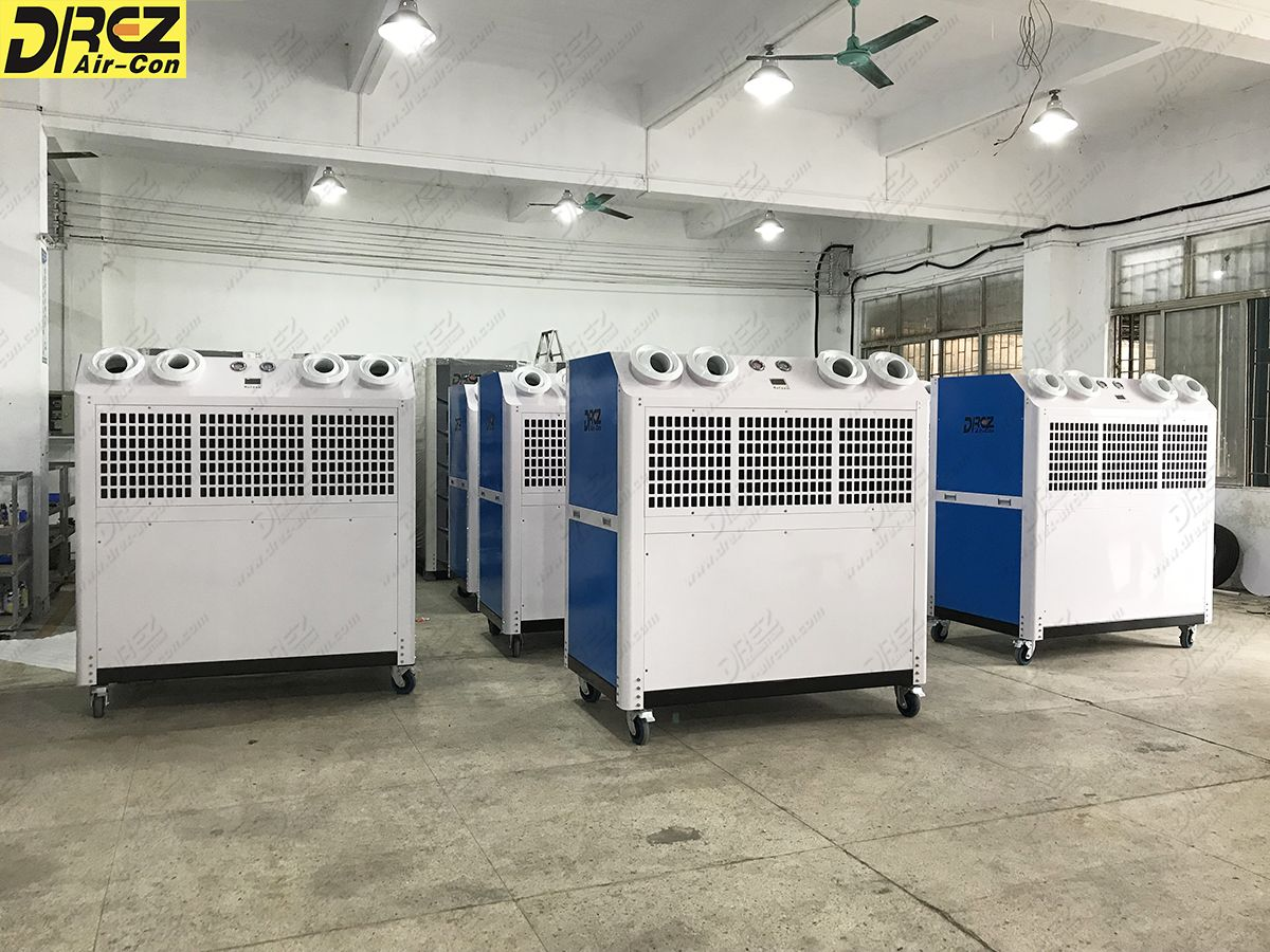 10hp portable air conditioner for outdoor event/party