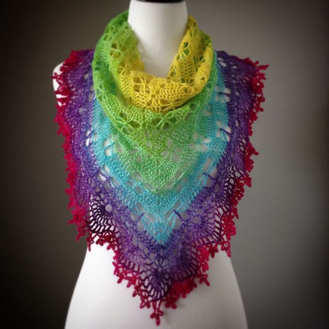Ravelry: Butterfly Stitch Prayer Shawl pattern by njSharon AND ...