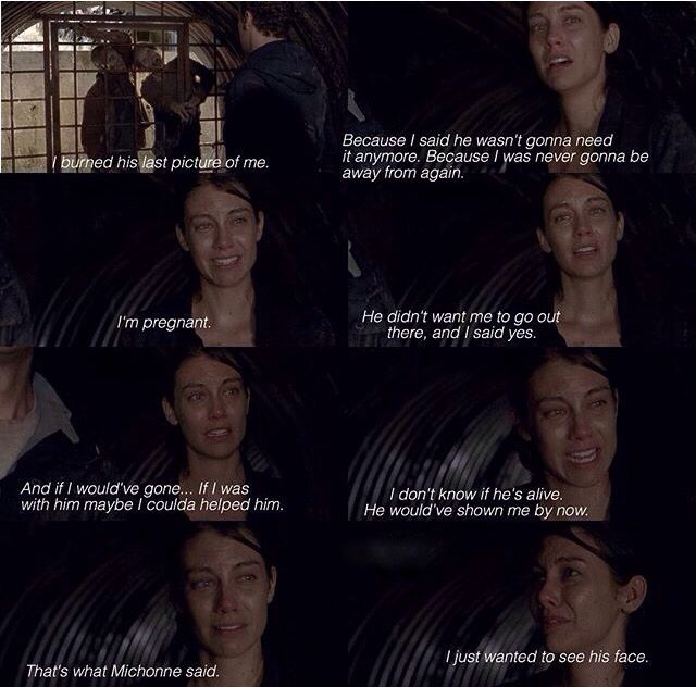Aaron and Maggie. The Walking Dead Season 6 Episode 5