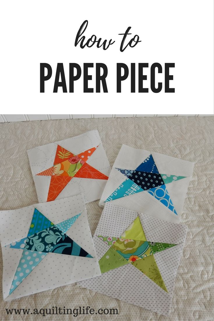 Foundation Paper Piecing (A Quilting Life) | Kreativer Bereich ...