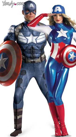 Captain America Couples Costume  sc 1 st  Pinterest & Captain America Couples Costume | Captain America | Pinterest ...
