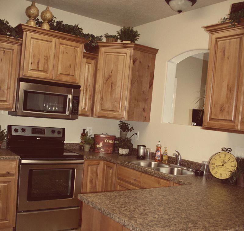 Knotted Oak Kitchen Cabinets: Glazed Knotty Alder Wholesale Kitchen Cabinets