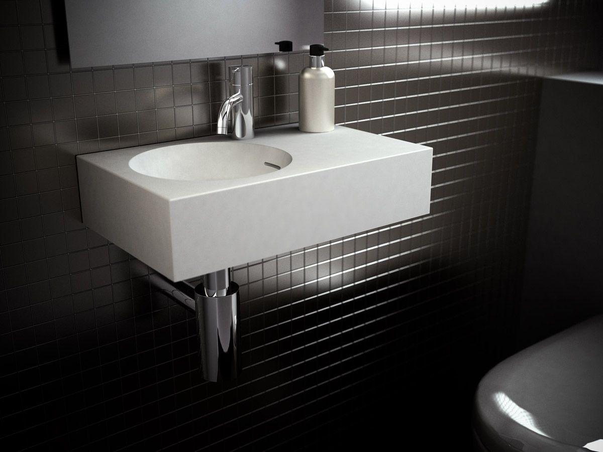 Essence 1 750mm wide shaving cabinet cibo design - Omvivo Neo 700 Wall Basin