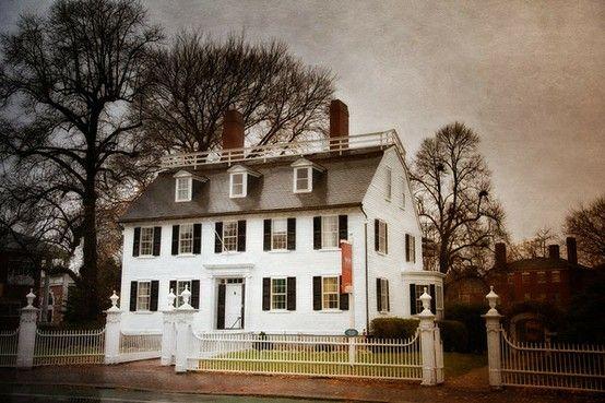 The Ropes Mansion Salem Massachusetts Salem