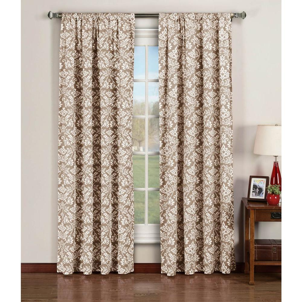 Window Elements Semi Opaque Valencia Printed Cotton Extra Wide 96