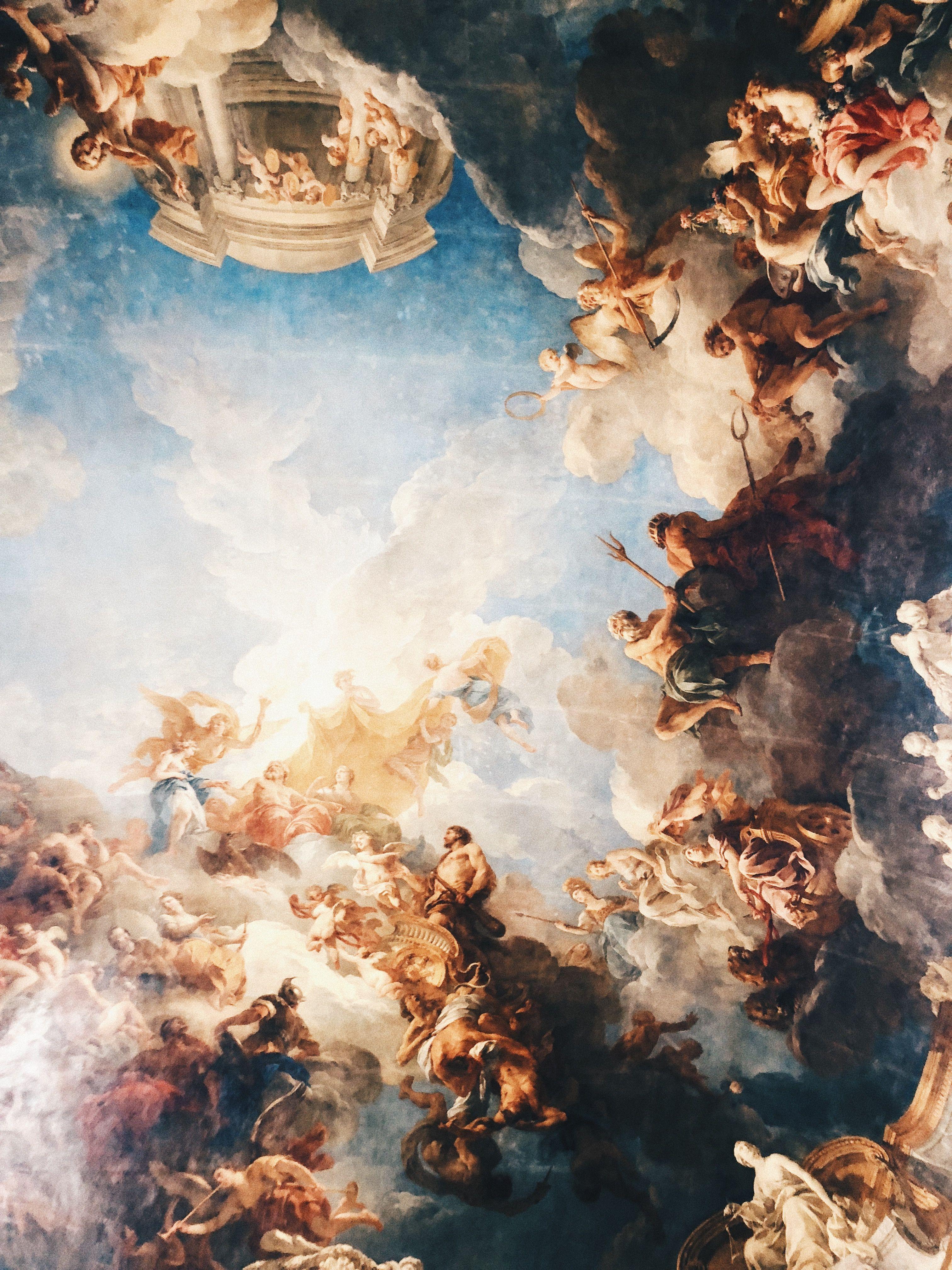 Palace Of Versailles Renaissance Art Aesthetic Art Baroque Painting