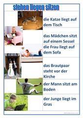 Tag für Tag_Tagesablauf Arbeitsblatt - Kostenlose DAF Arbeitsblätter ...