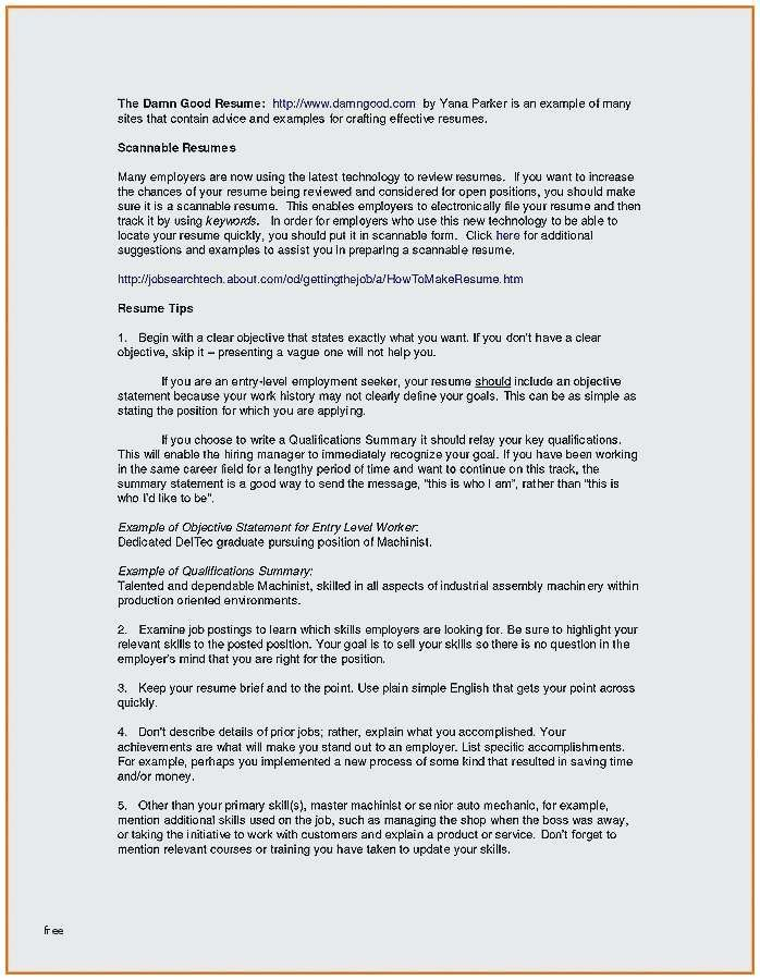77 New Gallery Of Resume Summary Examples For Restaurant Management