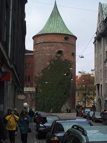 A cool tower in Riga by e-diot, via Flickr