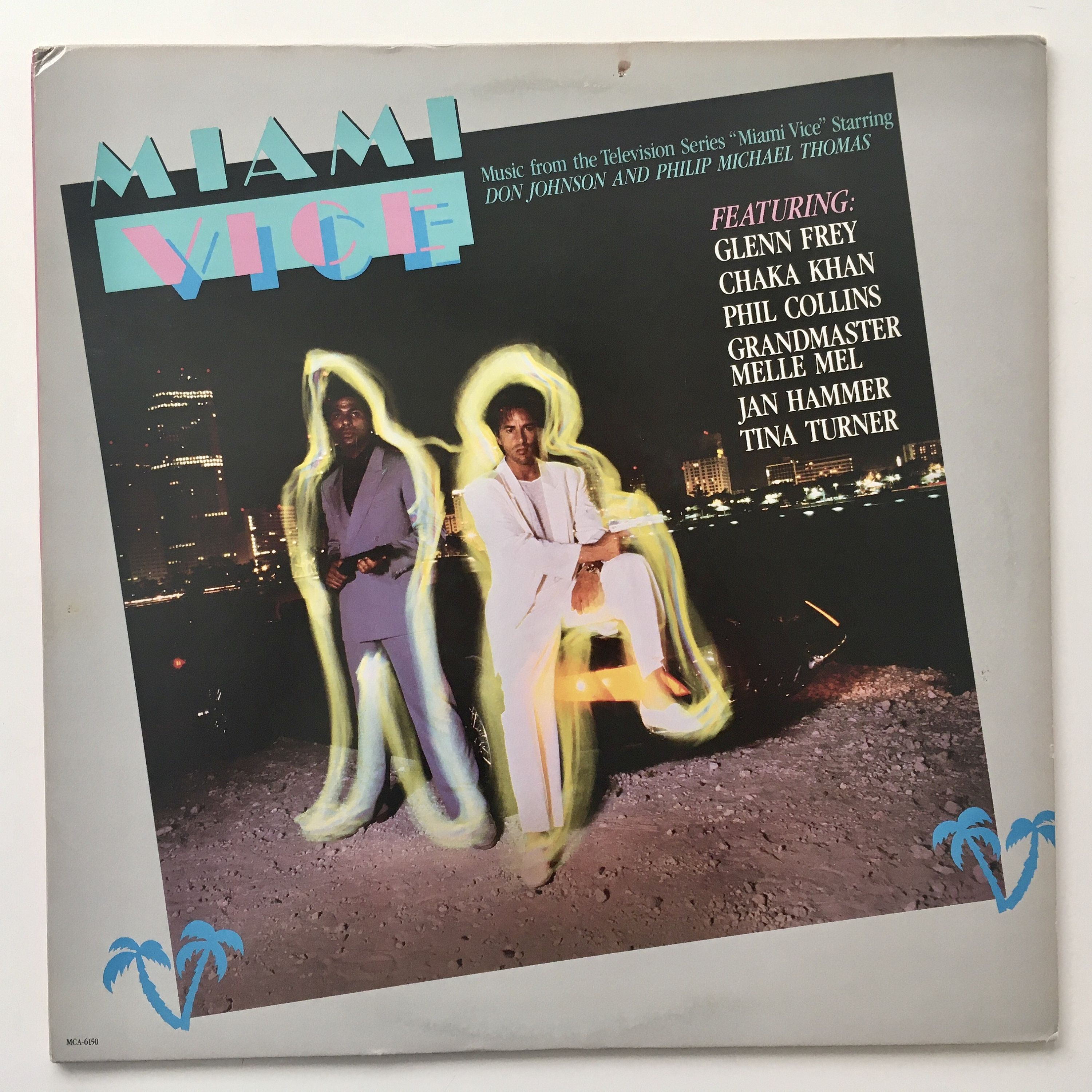 Miami Vice Music From The Television Series Lp Vinyl Record Etsy Vice Music Vinyl Record Album Miami Vice