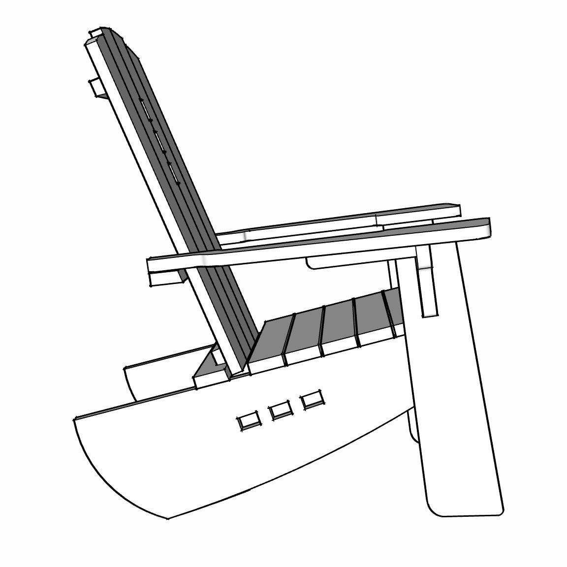Pasatiempo Patio + Garden Chair