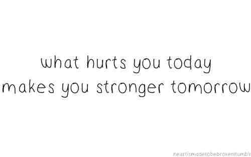 Hope this helps you through the hurt...