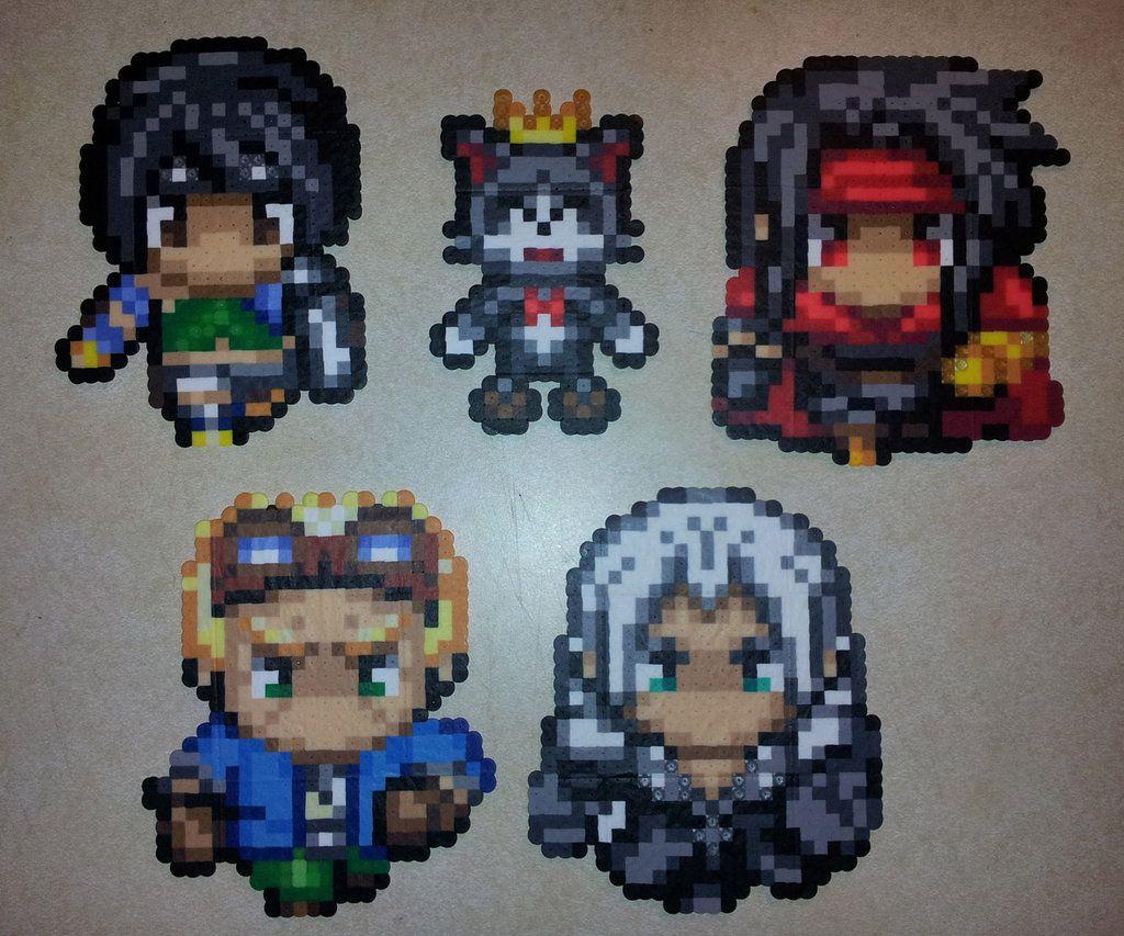 FF7 Sprites 02 by IAmArkain.deviantart.com on @deviantART