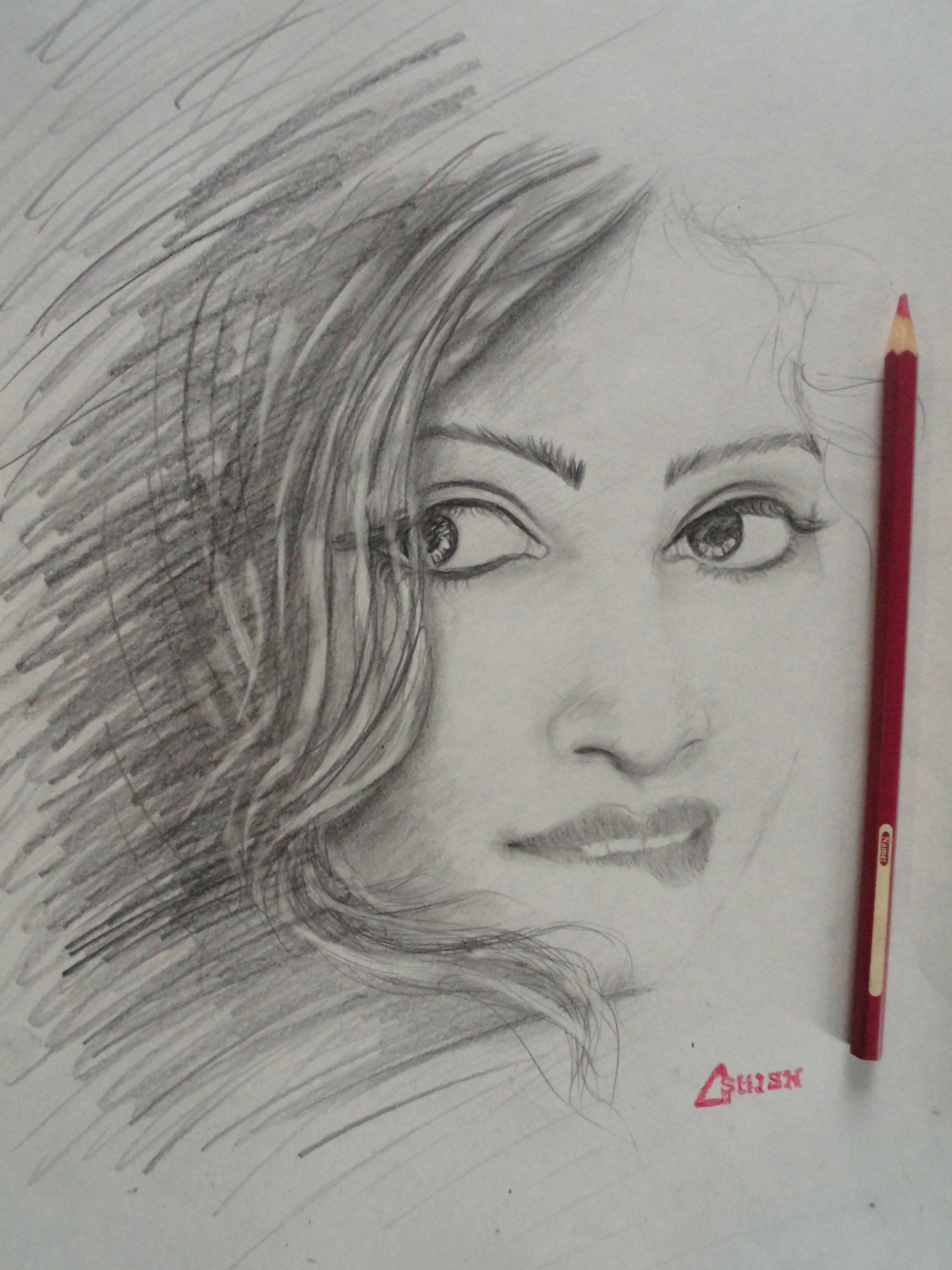 Pencil sketch by ashish baroy