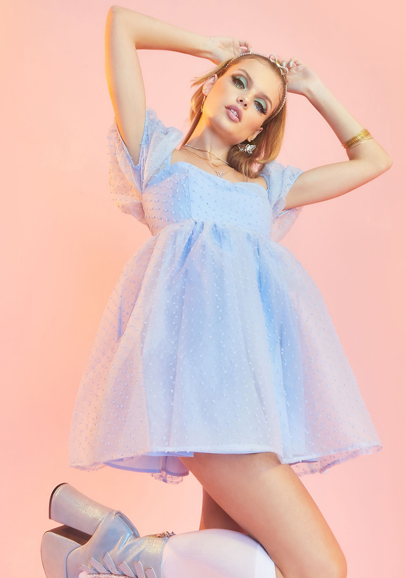 Complicated Courtship Babydoll Dress In 2021 Dresses Babydoll Dress Puff Dress [ 2000 x 1405 Pixel ]