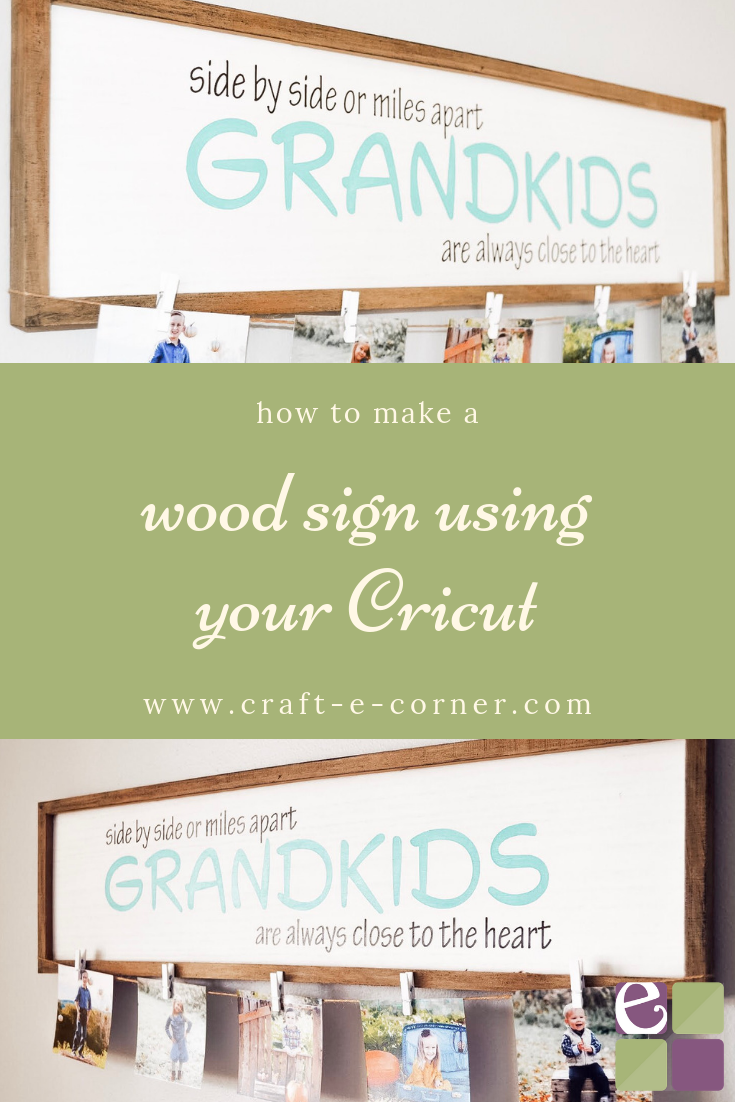 Diy Grandma Sign A Perfect Gift For