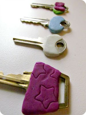 Diy Clay Key Decorations With Images Polymer Clay Crafts Diy
