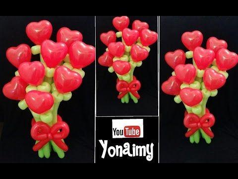 Como Hacer Flores Con Globos Paso A Paso Globoflexia Facil Ramo - Como-hacer-flores-de-globos