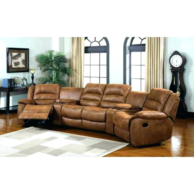 Curved Reclining Sofa Sectional Sofa With Recliner Leather Sectional Sofas Sectional Sofa