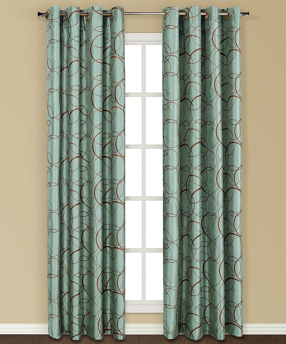 Bed bath and beyond window shades  united curtain blue sinclair faux silk panel  silk ps and curtains