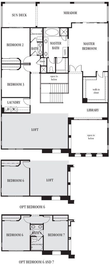 Amora | Esperanza | Las Vegas 2 story home with 5 bedrooms ...
